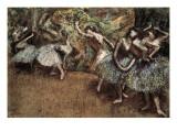 Ballet Scene Giclee Print by Edgar Degas