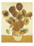 Sunflowers Premium Giclee Print by Vincent van Gogh