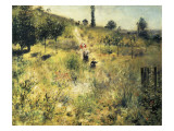 The Path Through the Long Grass Posters by Pierre-Auguste Renoir