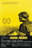 Easy Rider, film avec P. Fonda et D. Hopper, 1969 Affiche
