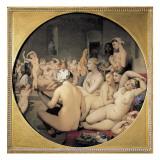 The Turkish Bath Giclée-Premiumdruck von Jean-Auguste-Dominique Ingres