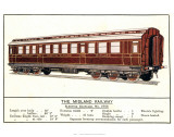 Sleeping Carriage No. 2765, Midland Railway Posters