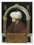 The Sultan Mehmet II Posters af Gentile Bellini
