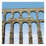 Aqueduct in Segovia Poster