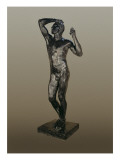 The Age of Bronze Giclee Print by Auguste Rodin