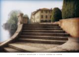 Villa Largo di Como Poster by Tim Wampler