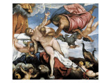 The Origin of the Milky Way Giclee Print by Jacopo Robusti Tintoretto