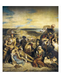 The Massacre of Chios Giclee Print by Eugene Delacroix
