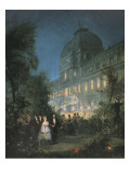 Evening Party at the Tuileries, 10th June 1867 Art by Pierre Tetar Van Elven