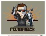 Weenicons: I'll Be Back Affiches