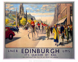 Edinburgh by Rail Art