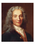 Voltaire Prints by Catherine Lusurier
