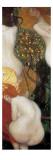 Goldfische Poster von Gustav Klimt