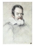 Portrait of Galileo Galilei Posters by Ottavio Mario Leoni