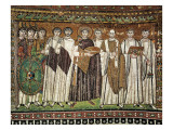 Emperor Justinian and His Court Giclee Print