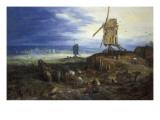 Landscape with Windmills Posters by Jan Brueghel the Elder