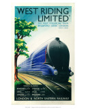 West Riding Limited, Steamline Train, Bradford, Leeds, London Posters