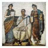 Virgil and the Muses Giclee Print