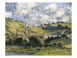 Landscape, Vetheuil Prints by Claude Monet