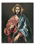 The Redeemer Prints by  El Greco