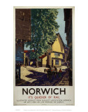 Norwich Horse and Cart Art
