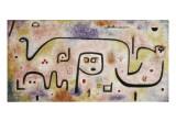 Insula Dulcamara Reproduction giclée Premium par Paul Klee