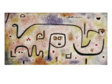Insula Dulcamara Giclee Print by Paul Klee