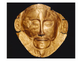 Funerary Mask Og Agamemnon Posters