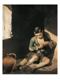 The Young Beggar Premium Giclee Print by Bartolome Esteban Murillo
