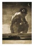 The Colossus Kunst af Francisco de Goya