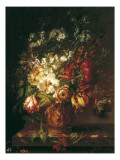 Vase of Flowers Giclee Print by Joseph Laurent Malaine