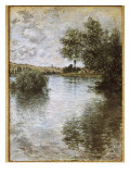Vétheuil Premium Giclee Print by Claude Monet