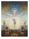 The Great Morning Giclee Print by Philipp Otto Runge