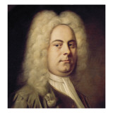George Frideric H&#228;ndel Giclee Print by Balthasar Denner