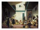 Jewish Wedding in Morocco Prints by Eugene Delacroix