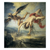 The Fall of Icarus Giclee Print by Jacob Peter Gowi