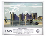Caernarvon Castle LMS Prints
