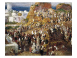 The Mosque, Arab Festival Posters by Pierre-Auguste Renoir