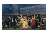 St Mark's Square in Venice Giclee Print by Michele Cammarano