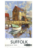 Suffolk, the Tide Mill Woodbridge Print