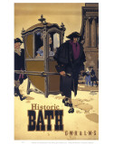 Historic Bath, GWR, Carriage Posters