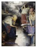 The Washerwomen Prints by Abram Efimovich Arkhipov