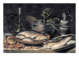 Table Giclee Print by Clara Peeters