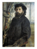 Claude Monet Poster by Pierre-Auguste Renoir