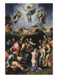 Transfiguration Reproduction procédé giclée par  Raphael