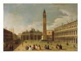 Saint Mark's Square at Venice Giclee Print