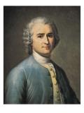Jean-Jacques Rousseau Prints by Jean Edouard Lacretelle