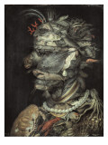 Water (Aqua) Giclee Print by Giuseppe Arcimboldo