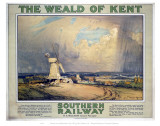The Weald of Kent Poster