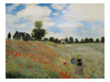 Wild Poppies Giclee Print by Claude Monet